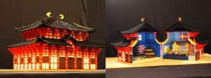 レゴで起業した三井さんの作品
