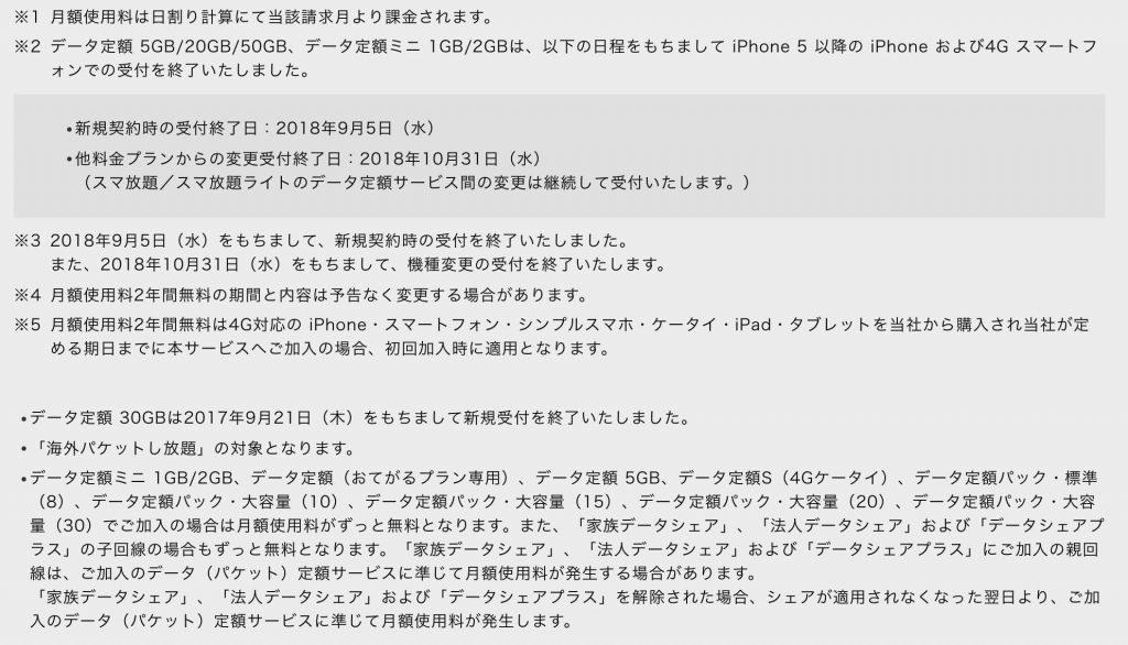 ソフトバンクのテザリング料金(注意事項)2019年〜