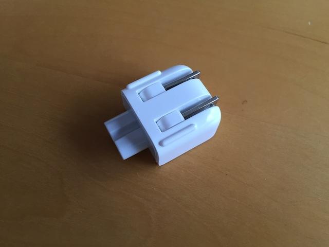 Macのアダプター交換