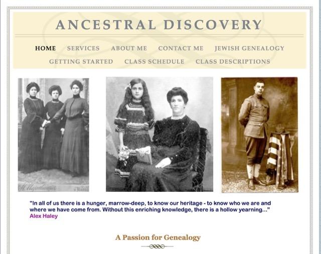 家系図調査ビジネス(ancestraldiscovery)