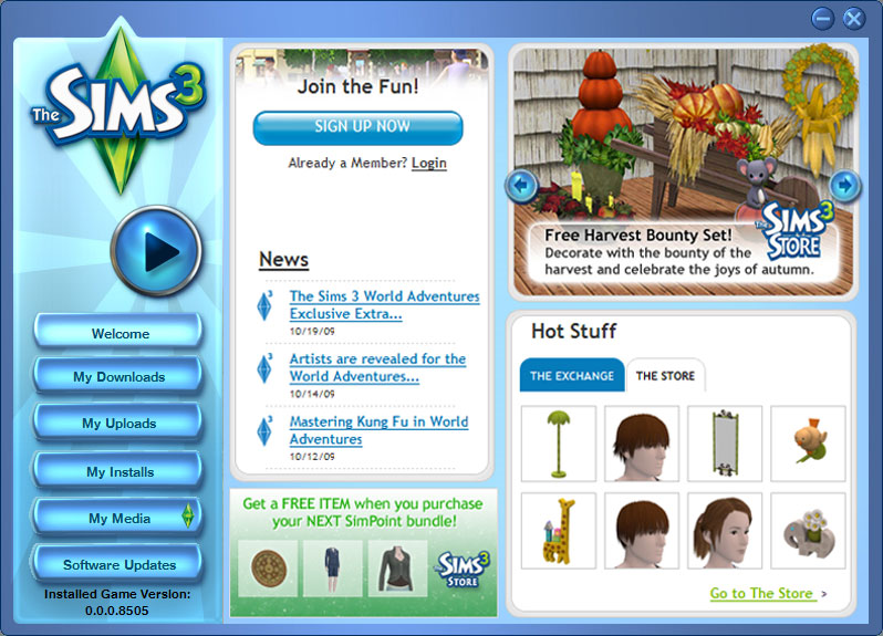 the_sims_3_control