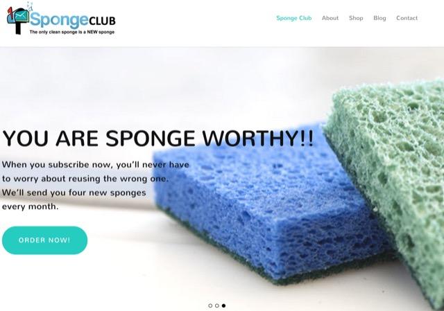 sponge club