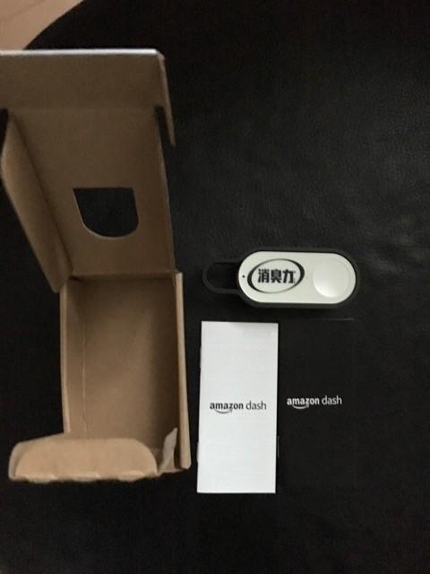 Amazon Dash Buttonの包装を開けると