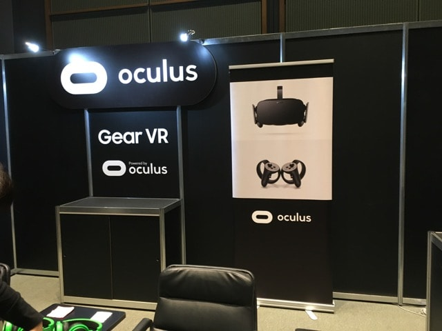 Unite 2017 TokyoのOculusのブース