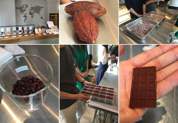 Minimalでのチョコ作り体験
