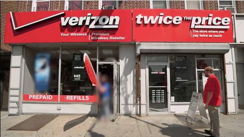 スプリントのやったTwice The Priceという価格が2倍する店舗の広告キャンペーン